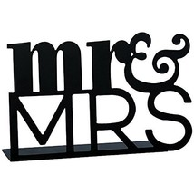 Carson Table Decor Mr. and Mrs. Home Accents - $11.68