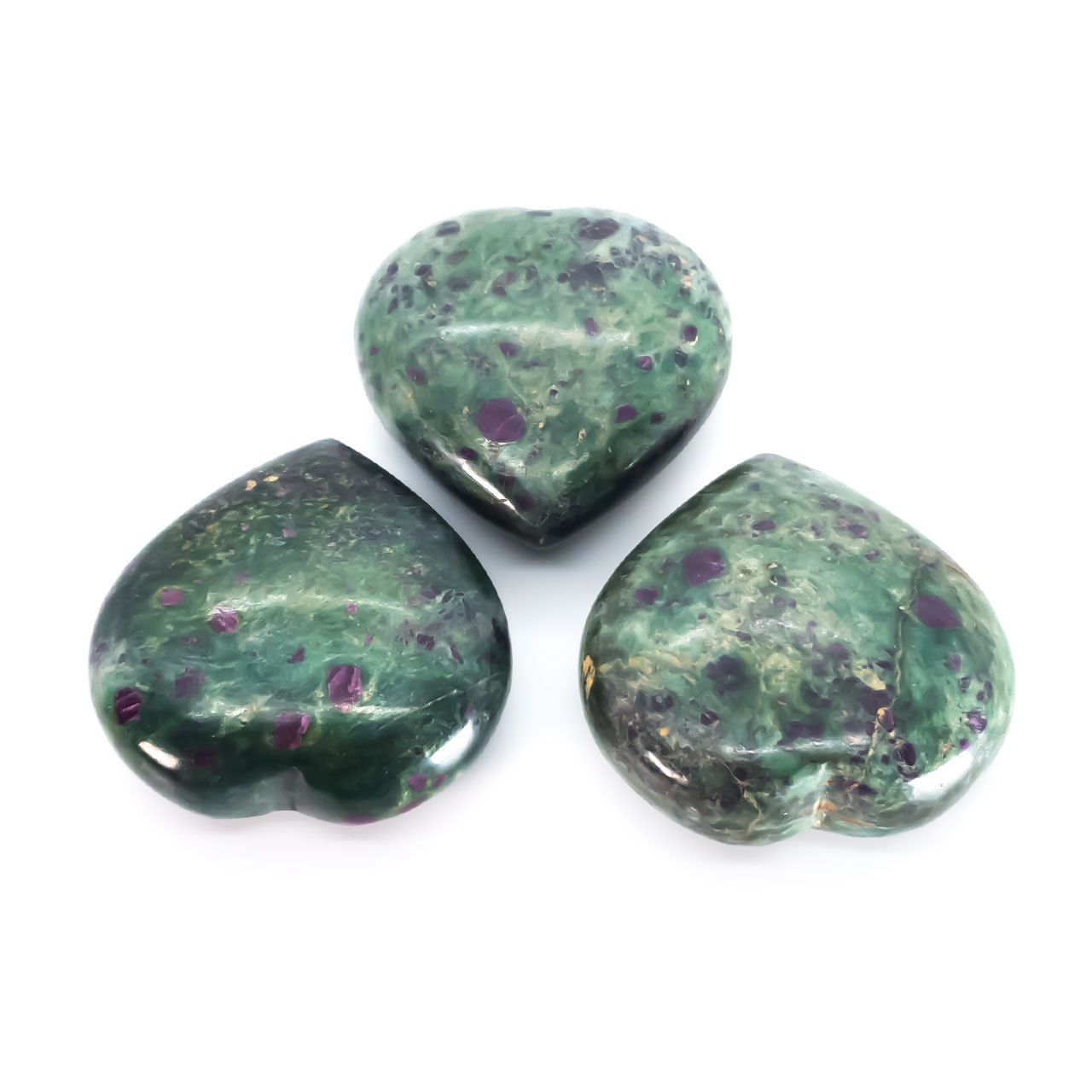 Primary image for Ruby Fuchsite Puff Hearts - 2 to 2.5 Inches Aprox.