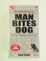 Man Bites Dog Hilarious Headlines Card Game by University Games - $6.26