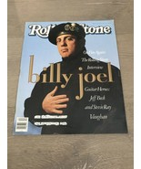 Rolling Stone Magazine Issue 570 JAN 25, 1990 Billy Joel Jeff Beck Stevi... - $8.00