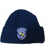 Loot Crate Resident Evil S.T.A.R.S Logo Beanie Navy Blue, Large - $36.14
