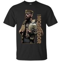 Proud Conor McGregor King T-shirt Irish Pride Team MC Boxing Champing - $16.78