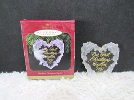 1997 Our First Christmas Together, Hallmark Keepsake Christmas Ornament,... - $5.50