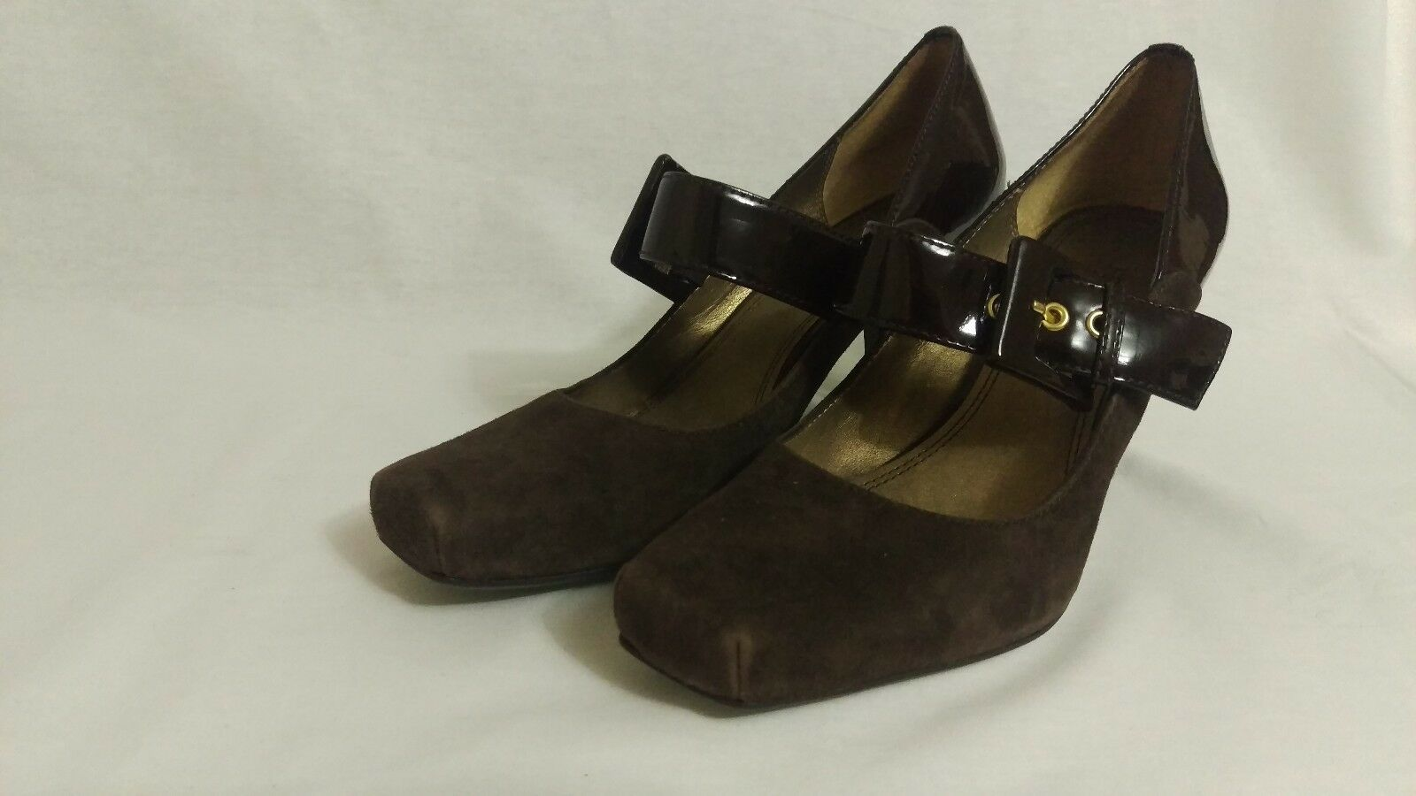 Franco Sarto Women's Brown Shoes size 6M heels image 1