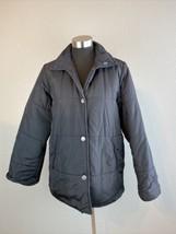 MaxMara Weekend Line Womens Jacket 6 S Black Hideaway Hood Made in Italy - $98.99