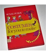 COSTUMES FOR YOU TO MAKE - Susan Purdy - 1971 H/B good, used cond Ex-Lib - $18.80