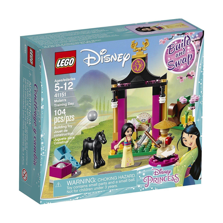 LEGO Disney Princess Mulan's Training Day Building Set 41151 NEW