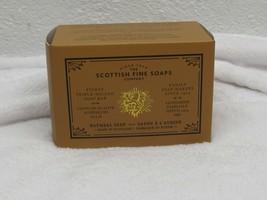 Scottish Fine Soaps Oatmeal Soap Boxed 1 Bar 10.5 oz each New In BOX - $21.77