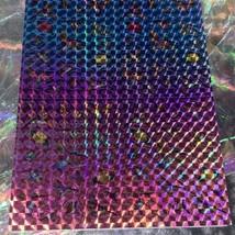 Lisa Frank Dashly Hummingbird Sticker Sheet Complete Prism Holograp Mini Size image 2