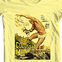 Amazing Colossal Man T-shirt vintage science fiction movie cotton tee image 1
