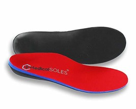 Medical SOLES Pro Series SILVER Full Length Insoles Orthotic inserts for Men/Wom - $31.79