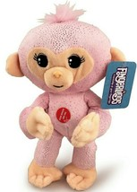 Plush Baby Monkey w/ Sound and Bendable Arms & Legs Pink Glitter - $14.35