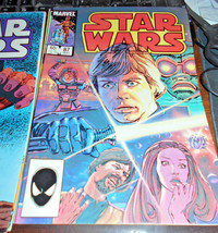 38 different Star Wars Comics Lot 1st Printing 1970's / 1980's Marvel Comics - $169.00
