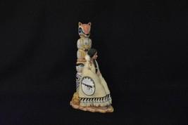 Ashton Drake FAITHFUL HEART Spirit Of The Wolf Totem Pole Native America... - $75.00
