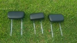 2006-2011 Mercedes Benz ML350 2ND Row Middle Rear Seats Headrest Set 3 Piece - $183.10