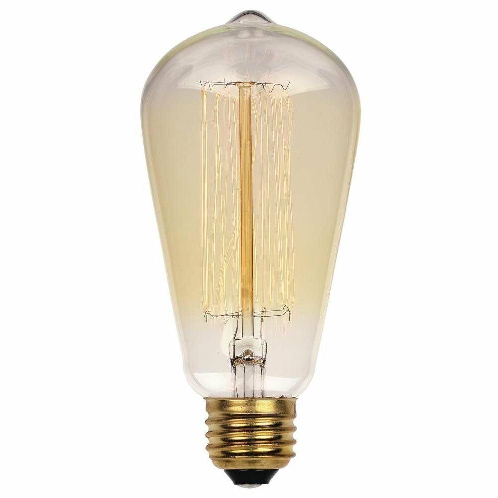 Westinghouse 0412000 40 Watt ST20 Clear Timeless Vintage Inspired Bulb 6 Pack - $35.68
