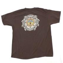 VINTAGE Alaska Sun Tshirt Adult Extra Large Brown Short Sleeve Midnight Sun AK - $22.58