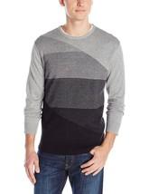 Calvin Klein Mens Cotton Modal End On End Sweater, Bellflower Heather, XL,3867-4 - $21.29