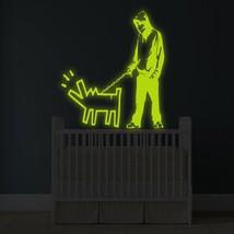 "( 64"" x 71"" ) Banksy Glowing Vinyl Wall Decal Choose Your Weapon / Glow in Dark  - $265.26"