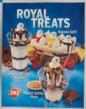 Dairy Queen Poster Royal Treats Banana Split 22x28 dq2 - $75.41