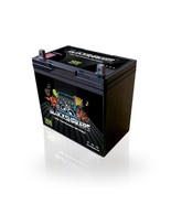 Black 12V 55AH 1400 Watts NB/T5 Car Audio Battery replaces XS D1200 S1200 - $124.37