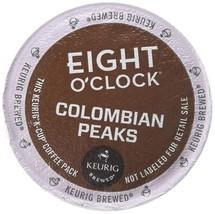 Eight O'Clock Colombian Peaks Medium Roast Coffee K-Cup Packs - 18 CT - $24.56