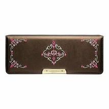 Sonic pen case both sides brush input flat Liana Tiara Royal Brown SK-50... - $35.50