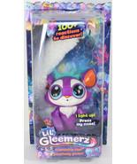 Mattel LIL GLEEMERZ PURPLE LOOMUR Light Up RAINBOW LEMUR INTERACTIVE TOY... - $24.74