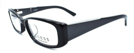 GUESS GUA2385 BKGRY Women's Eyeglasses Frames Asian Fit 52-16-135 Black ... - $47.84