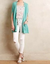 NWT $88 Anthropologie Chrysalis Cardigan XS Green By Angel of the North - $34.99