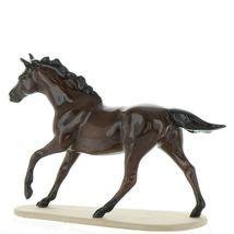 Hagen Renaker Miniature Horse Thoroughbred Seabiscuit Ceramic Figurine Boxed image 5