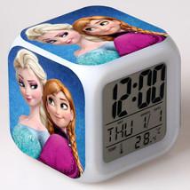 Anna and Elsa Frozen #14 Led Alarm Clock Figures LED Alarm Clock - $25.00