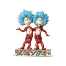 """Enesco Jim Shore Thing 1 And Thing 2 Dr. Suess 5"""" Figurine 6002908 - $44.50"""