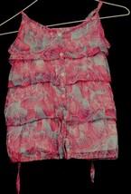 Girl's P.S. for Aeropostale Halter Size L 12 Floral Summer Sun Dress Sch... - $9.30