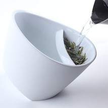 Creative Tipping Teacup Unique Smart Tea Cup with Tea Infuser Special D... - $11.43
