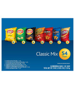 NEW Frito Lay Classic Mix, Variety Pack, 1 oz, 54-count **FREE SHIPPING** - $31.99
