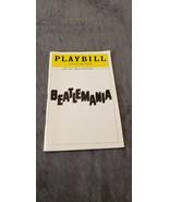 BEATLEMANIA PLAYBILL - MARCH 1979 - $13.99