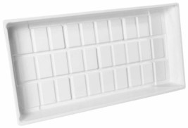 Hydrofarm CKTRAYW Cut Kit Tray, Food-grade plastic, Single Tray White 11... - $24.00