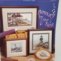 Beauty by the Sea Cross Stitch Pattern Leaflet 137 Stoney Creek 1995 Lig... - $10.89