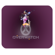 Mouse Pad Overwatch Logo Widow Maker Shooter Video Game Animation Fantasy - €5,28 EUR
