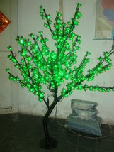 5Ft 480 pcs Green Light LED Cherry Blossom Tree Wedding Holiday party decor  - $319.00