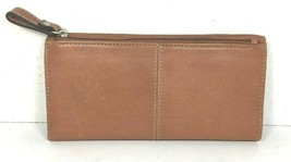 Fossil Brown Leather Clutch Wallet - $35.88