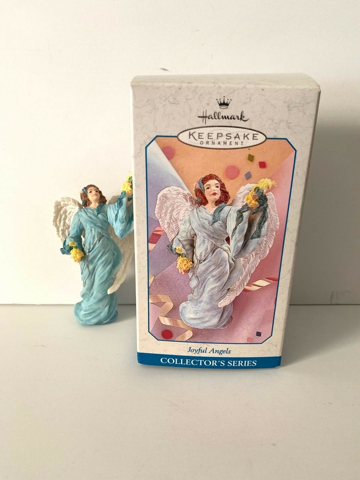 Primary image for Hallmark Keepsake Ornaments Joyful Angels 1998 Collector's Series #3 Joyce Lyle