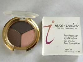 Jane Iredale PurePressed Pressed Eye Color Eyeshadow Trio Brown Sugar - $20.00