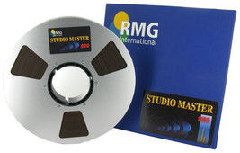 "RMGI SM900 BASF High Output Studio Master Tape Aluminum Reel 1"" 2500' 76... - $154.39"
