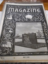 Great Collectible THE UNITED DAUGHTERS OF THE CONFEDERACY Magazine May 1988 - $8.50
