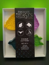 Fantastic Beasts and Where to Find Them Cookie Cutters Set of 4 New in Box - $9.90