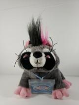 Webkinz Rockerz Glam Rock Raccoon Sealed Code Tag Ganz Plush Stuffed Animal - $16.44