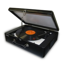 Jensen JTA-420 Portable Suitcase USB Turntable Record Player w/ Built-in... - £46.15 GBP