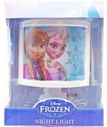 Disney Frozen Elsa Anna Girls Nighlight New - $21.99
